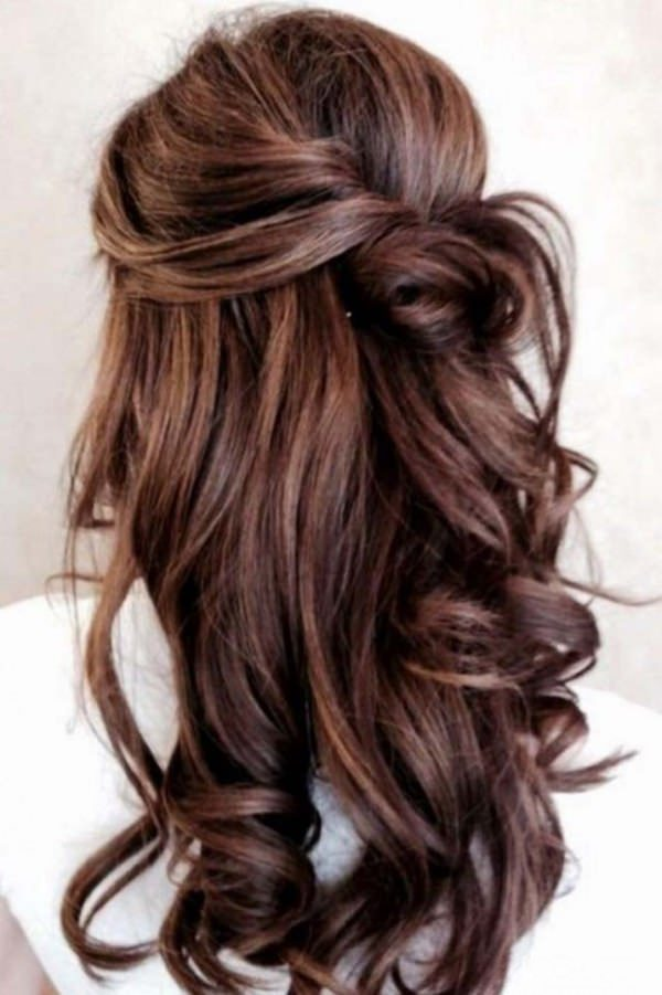 101 Beautiful Bridesmaid Hairstyles For Perfect Wedding ...